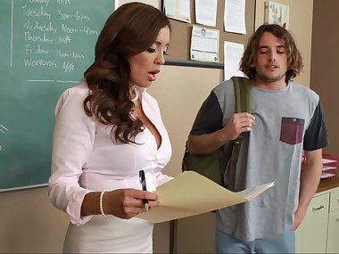 Horny teacher forces student