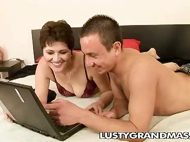 Stud Licks And Fucks His Sugar Mama Meli...