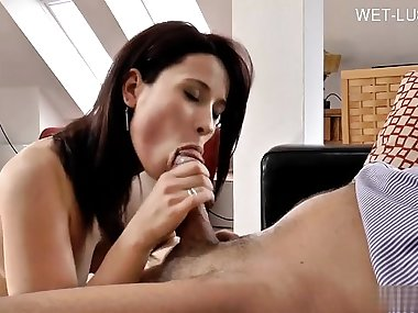 Italian mom punish anal