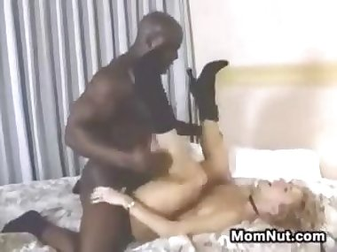 Horny MILF And That Big Black Cock She Loves